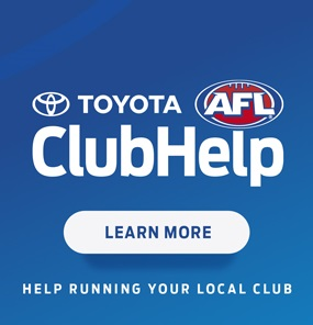 Toyota AFL Club Help